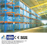 Stahlmaschendraht-Ladeplatten-Rahmen für Lager-Speicher mit hölzerner Ladeplatte