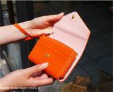 Qualitäts-Süßigkeit-Farbe PU-intelligente Telefon-Mappe