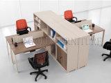 Moderner Mittelpersonal-Büro-Würfel-Arbeitsplatz mit Aktenschrank (SZ-WS605)