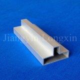 Profil en aluminium anodisé par argent pour la fixation