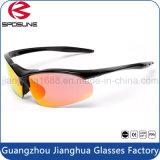 Os homens de pouco peso os mais baratos por atacado projetaram óculos de sol Running de ciclagem polarizados da equitação da pesca de Revo do olho vidros à moda