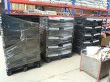 HDPE almacén logístico paletas de plástico envase de la caja