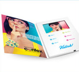 カスタム印刷を用いる最も安い2.4inch /4.3inch /5.0inch/7.0inchおよび10.1inchビデオパンフレット