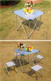 옥외 야영 접의자 및 의자 알루미늄 테이블, 작은 휴대용 테이블