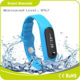 Bluetooth quema de calorías podómetro Medir el sueño de seguimiento de medición de distancias mensaje pulsera inteligente El recordar