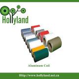 Cubierto y grabó la hoja de aluminio de la bobina (ALC1104)