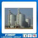 Le ce a certifié le silo avec le collecteur de poussière pour l'usine d'alimentation de bétail