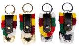 Keychainsとして浮彫りにされたステッカーのホールダーが付いている記念品の鐘のギフト