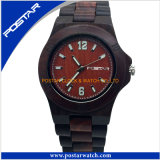 고품질을%s 가진 최신 판매 방수 목제 숙녀 시계 팔찌 시계