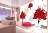 Junção decorativa interior das pinturas murais da parede de /3D do teto da impressão de Digitas e material sem emenda de /Wallpaper