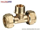 Brass Pex Fitting for PE Pipe et Pex-Al-Pex Pipe / Brass Coupling / Nipple