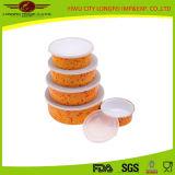 5セットの食糧貯蔵容器のエナメルの食糧ボール