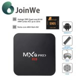 Mxqpro 4k S905 인조 인간 텔레비젼 상자
