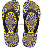 De populairste 3D Schoenen van de Pantoffel van de Wipschakelaar van de Druk Toevallige (FF68-15)