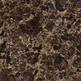 Emperador oscuro esmaltado porcelánico azulejo de suelo para la construcción de la fábrica de Foshan De Copia Marble600 * 600 800 * 800