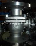 Extremidade de aço da flange de válvula do globo de Stailess JIS