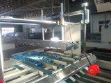 Dépliant ondulé automatique à grande vitesse de cadre de carton collant et machine à emballer