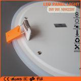 3+2W rotondo/indicatore luminoso di comitato bianco blu acrilico colore LED del quadrato doppio per la decorazione domestica