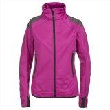 Пригонка 2015 женщин атлетическая резвится куртка Softshell