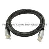 De mannelijk-mannelijke Kabel van de Hoge snelheid HDMI van de Kleur van de Strook van het Geslacht