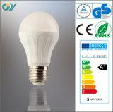 Bulbo de la eficacia alta 8W E27 LED con el CE RoHS SAA