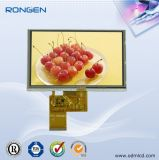 Interfon LCD-Bildschirmanzeige des ODM-5inch TFT LCD Bildschirm-800*480 videomit Touch Screen