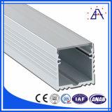 Perfil de liga de alumínio para LED com cor diferente