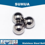 bola de acero inoxidable de 2.5m m para la esfera sólida de la máquina del café