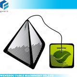 Empaquetadora hechura/relleno/soldadura del té del bolso del triángulo con la etiqueta