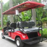 세륨 Certificate (DG C4+2)를 가진 새로운 Designed 6 Seats Electric Golf Car
