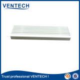アルミニウム白いカラー換気の使用のための線形供給の空気グリル