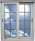Fenêtre coulissante transversale en aluminium avec poignée de verrouillage multipoint