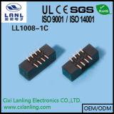 en-tête électrique de cadre des connecteurs SMT d'en-tête de cadre de couleur noire de 2.0mm