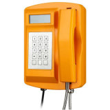 O telefone do IP/G/M/PSTN, Knsp-18LCD Waterproof o telefone