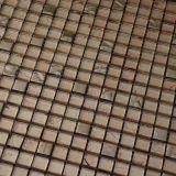 Плитки мозаики золота высокого качества стеклянные для украшения стены