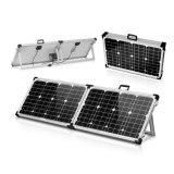 5m 케이블로 야영을%s 태양 전지판 장비를 접히는 120W