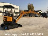 Mini excavador We20 de la correa eslabonada para la máquina de la construcción