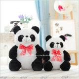 Stuk speelgoed van de Panda van de Pluche van China Manufactory het In het groot Gevulde