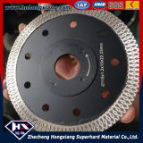 Gutes Sharpness Cyclone Mesh Turbo Diamond Saw Blade für Marble Granite Concrete