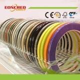 Alta cinta de las bandas de borde del PVC del lustre