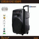 Haut-parleur portatif actif de batterie stéréo multifonctionnelle bon marché de Bluetooth de constructeur de Guangzhou