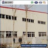 Edificio prefabricado de acero de la H-Sección de Glavanzed para el almacén (almacén de la estructura de acero)