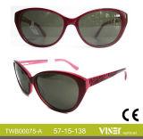 Hochwertige Azetat-Sonnenbrille-Großhandelsgläser (75-C)