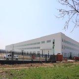 Gruppo di lavoro chiaro prefabbricato della struttura d'acciaio con la scaletta della gabbia (KXD-SSW1145)