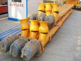 Transportador de tornillo de la planta de procesamiento por lotes por lotes concreta para entregar el polvo