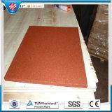 Плитки фабрики циновки настила гимнастики плитка пола резиновый сразу крытой резиновый резиновый