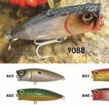 55mm 65mm 85mm sautant d'une première le prix bon marché usine --- La qualité a fait Crankbait de pêche en plastique dur fait sur commande - Wobbler - attrait de pêche de Popper de cyprins