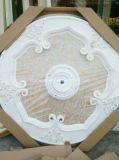 Роскошный европейский PVC конструкции и деревянный медальон потолка не