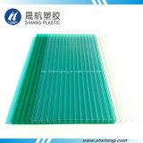 Лист PC полости поликарбоната популярного украшения материальный пластичный