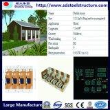 호화스러운 모듈 홈 조립식 가옥 강철 홈 녹색 조립식 홈